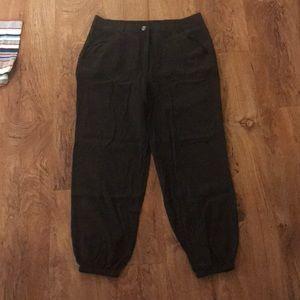 Hive & Honey Black jogger Style Pants L